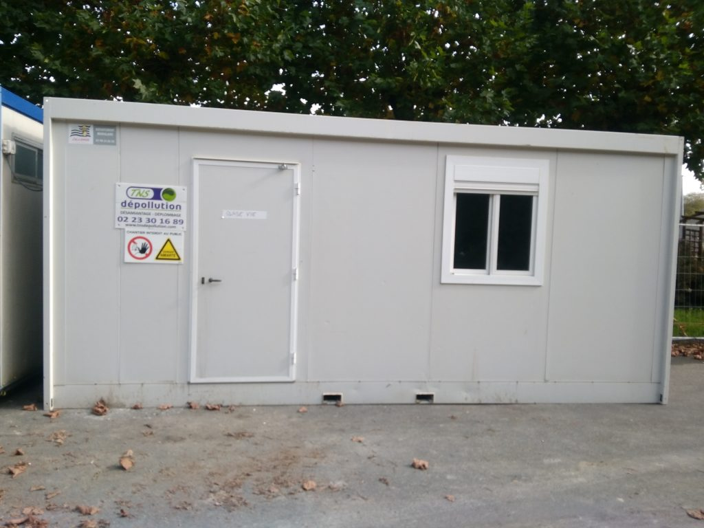 Base-vie - Vestiaire - Bureau de chantier