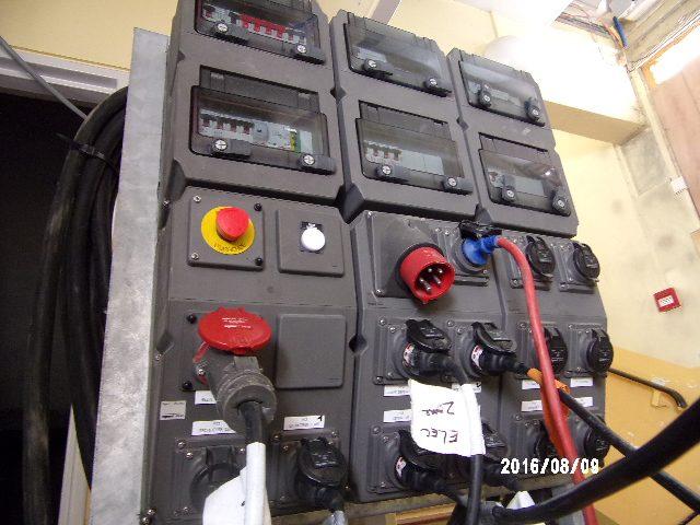 Armorie électrique de chantier - 63 ampères