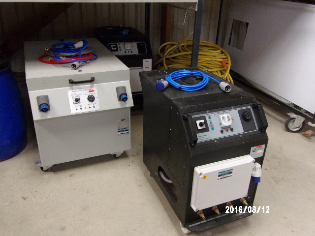 Unités de chauffe et de filtration